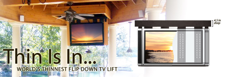 LIFT IT has reinvented hidden technology with the new LFT-100 and LFT-200 LCD and plasma TV lifts. Easy TV Mounting - Ultra Quiet Operation - Intelligent Movement - Versatile Furniture or Architecture Integration - these are the hallmarks of this new design.